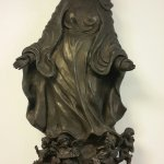 Statue dans le hall d'acceuil.