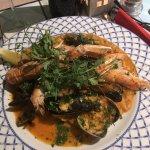 Seafood risotto. Hmmmmm