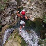 Splavování divokých řek aslaňování