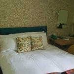 Compact bedroom!