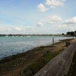 View across Langstone Harbour, Hayling Island
