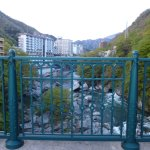 Kinugawa Onsen Fureai Bridge Photo
