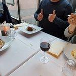 heerlijke tiramisu, de zabaglione (niet op foto) was heeeel lekker