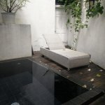 plunge pool in the suite