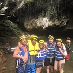 Amazing day spent cave tubing.