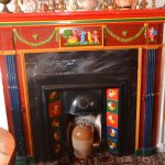 traditional canal art fire place