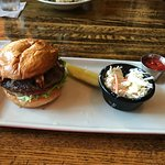 Bistro Burger and Cold Slaw