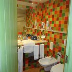 nice size bathroom,,shower/bath