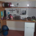 Kitchenette at Sea Breeze apartments room No 11