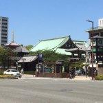 祇園駅3番出口からの眺め