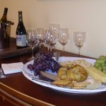 Our Friday Wine and Cheese gatherings