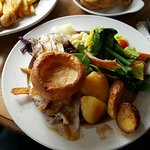 roast pork and frozen yorshire oh dear