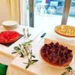 Desserts réalisés par le chef