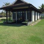 A beach villa - total luxury