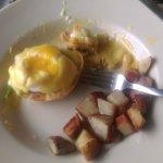 Relish Cafe Crab Benedict