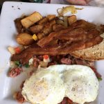 OMG Hash and eggs
