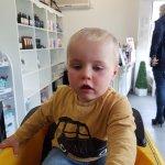 Childs first hair cut