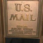 mailing chute