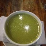 Leeks soup