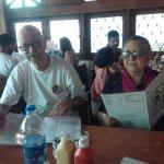 Guests selecting menu