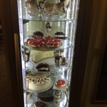 our Sunday cake cabinet