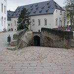 Der einzige Zugang zur Festung