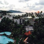 Views from Patong Beach Hotel rooms and general pics of the main pool