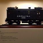 Model of 1st diesel electric engine.