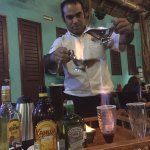 """The Mexican coffee was a """"show"""" in itself. Very entertaining and delicious."""
