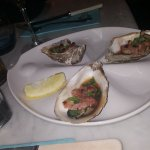 Kilpatrick grilled oysters- Worcester sauce, bacon & spring onion