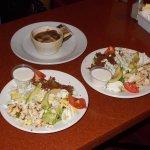 92nd Street Cafe, Scottsdale, AZ. Very GOOD salads.