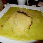 delicious pablano chicken crepe