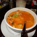 delicious chicken veggie soup
