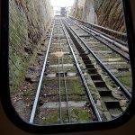 The view up. Bridgnorth Castle Hill Railway