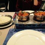 boeuf curry et agneau curry