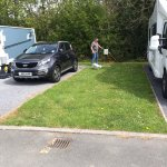 A tranquil beautiful country side, Argoed Meadow campsite is 5*, Rita and Alun are lovely hardwo