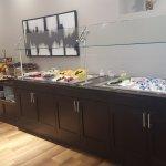 Breakfast buffet every morning!!! Fresh fruit, yogurt and omelettes!!!