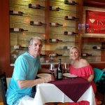 Wine and Dining at our favorite Italian in Cabo. Invita Bistro!