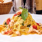 Tagliolino with Irish crab