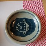 Cute soy sauce dish with Sun Fish