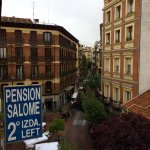 View from room 201 to Calle del Pez