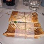 Très sympa les paninis/sandwich maison !
