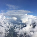 Up above the clouds!