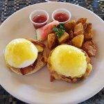 Eggs Benedict for breakfast :)