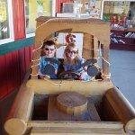 Grandkids at Cider Works