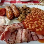 Large english breakfast