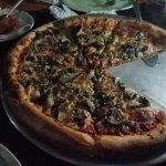 Mushroom & Garlic Pizza