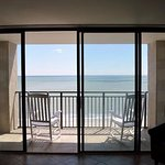 View from balcony-unobstructed ocean view