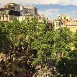 Amazing view of Las Ramblas