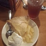 Sugar free ice cream and no sugar added apple pie -- great !!